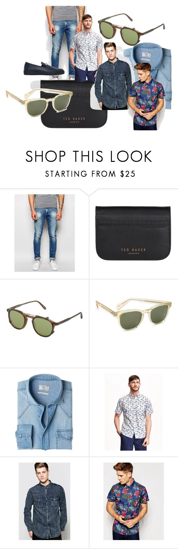 """Untitled #2"" by rismasansella on Polyvore featuring Scotch & Soda, Wild & Wolf, Garrett Leight, Paul Smith, MANGO, Old Navy, BoohooMAN, ESPRIT, Bi_Plus and mens"