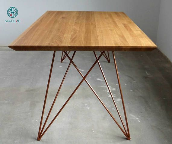 Copper color Promo PRICE Set of Steel Dine Table Legs.