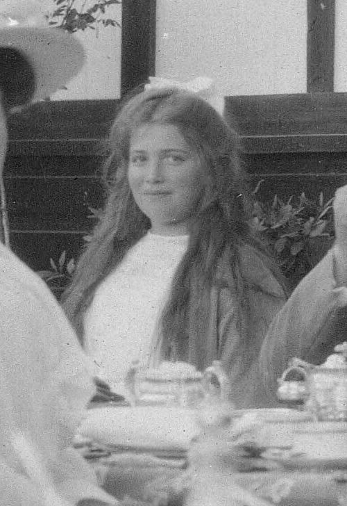 candid photograph Grand Duchess Maria Nikolaevna of Russia c. 1913-14?, third daughter of Tsar Nicholas II, great-granddaughter of Queen Victoria