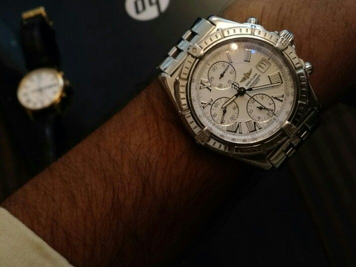Breitling on my hand