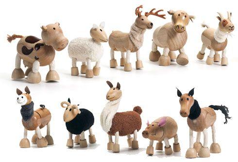 anamalz - Farm & Wild Anamalz - eco friendly - wood toys