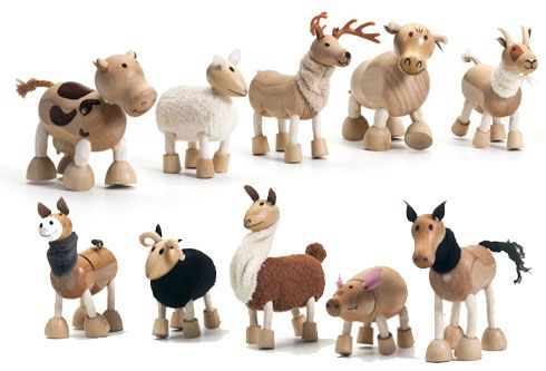 anamalz - Farm & Wild Anamalz - eco friendly - wood toys