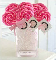 Cute for a wedding, girls baby shower, or even spice it up a bit for a bachelorette party!