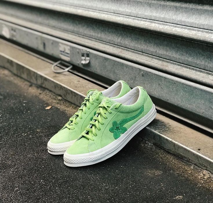"Tyler, The Creator x Converse One Star OX GOLF le FLEUR ""Jade Lime"""