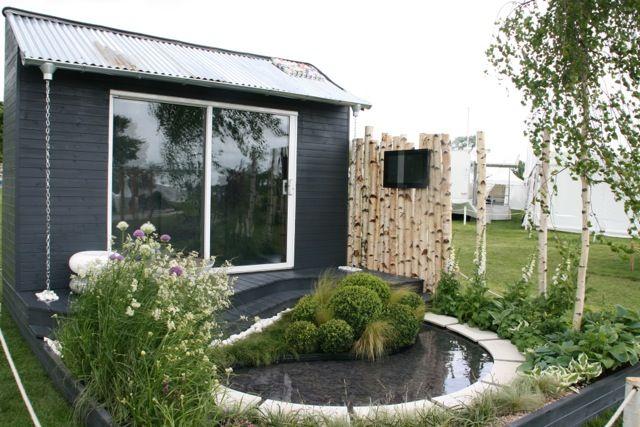 overview of our award winning garden at RHS Malvern Spring Show