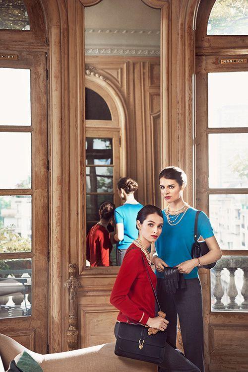 ユニクロ×イネス・ド・ラ・フレサンジュ 16年秋冬コレクション -ファッション変革期のパリを着想源に 写真1