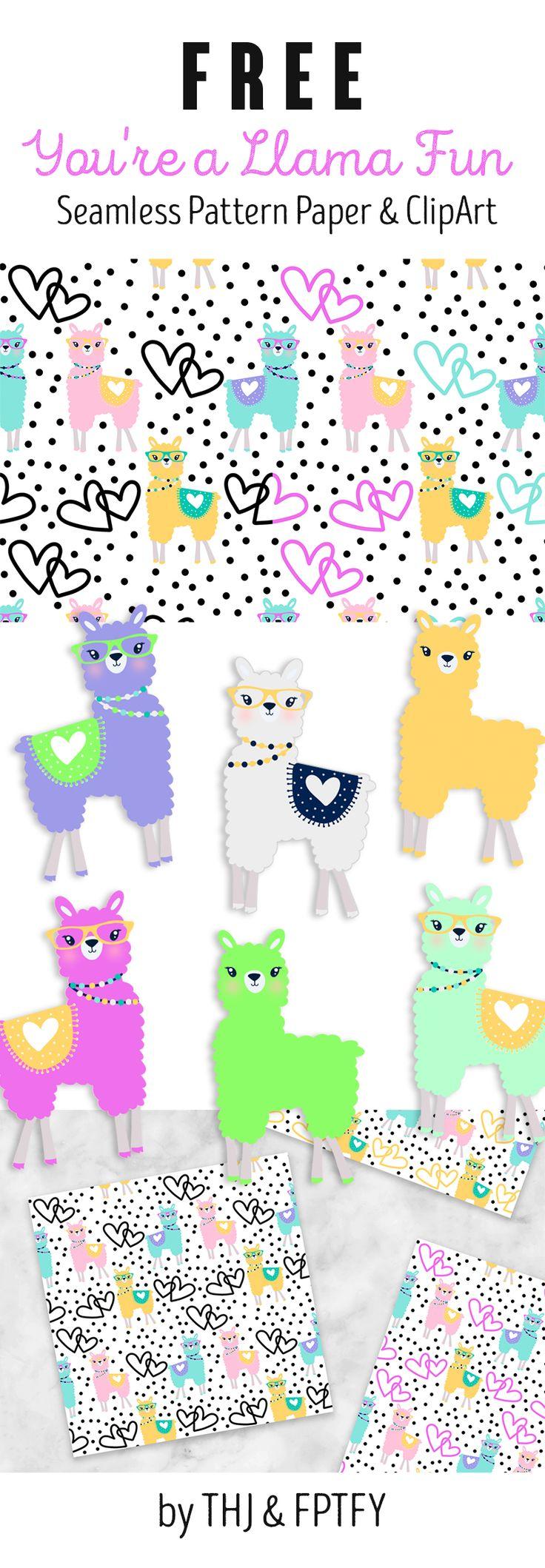 You're a Llama fun Freebie Collection!