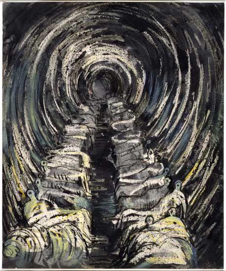 Henry Moore - Shelter Drawing, London Blitz