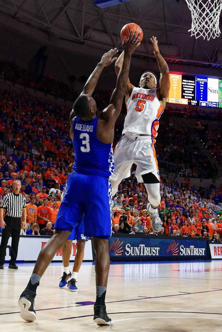 Florida Gators basketball photo gallery from Kentucky game