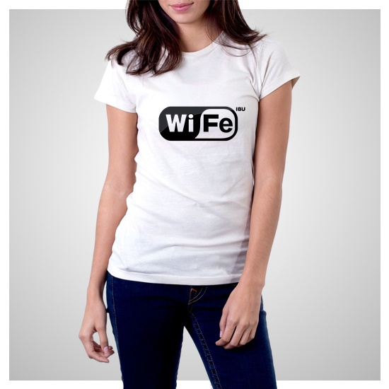 "my t-shirt ""wife"" title"