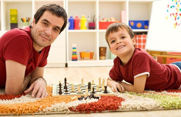 How about a round of chess or some other fun game? You know he'll always let you win :) #LincBestDad