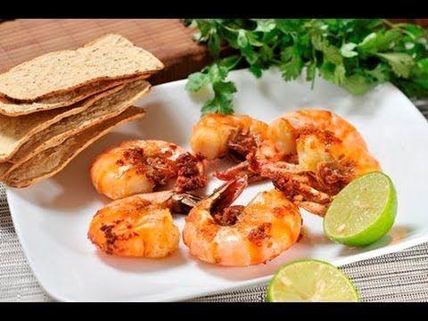 Camarones al mojo de ajo. Una @receta típicamente @mexicana para preparar @camarones.