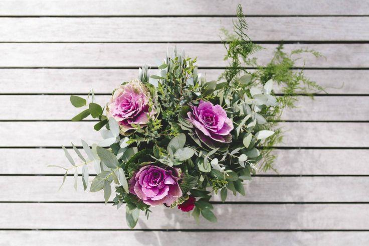 Anne's beautiful wedding bouquet
