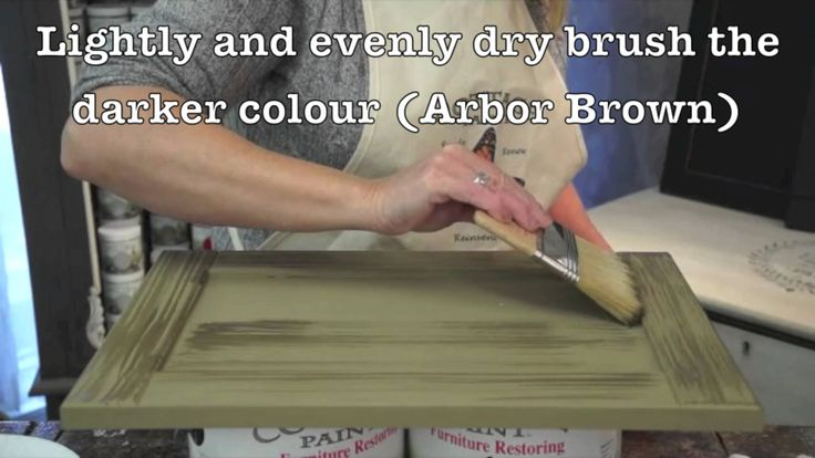 Cottage Paint Dry Brushing: Add depth to your painting technique!