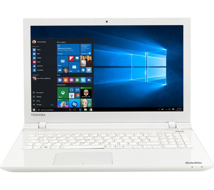 Toshiba Satellite L50-C-22L 15.6 Laptop - WhiteToshiba Satellite L50-C-22L, White