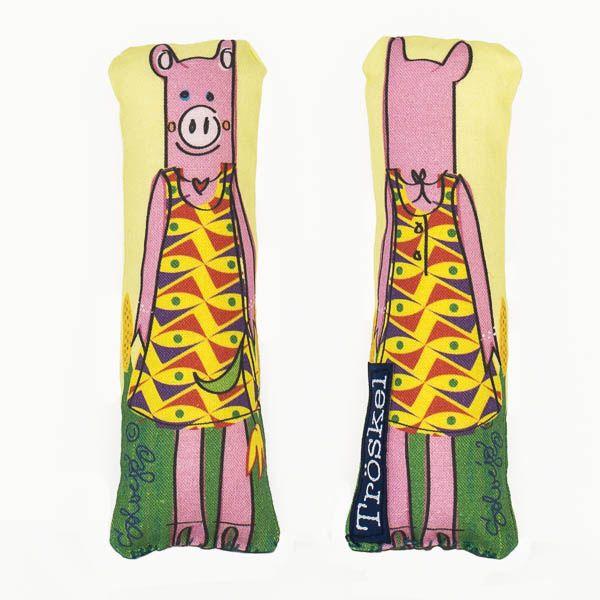 Piggie lavender sachet from www.troskodesign.com