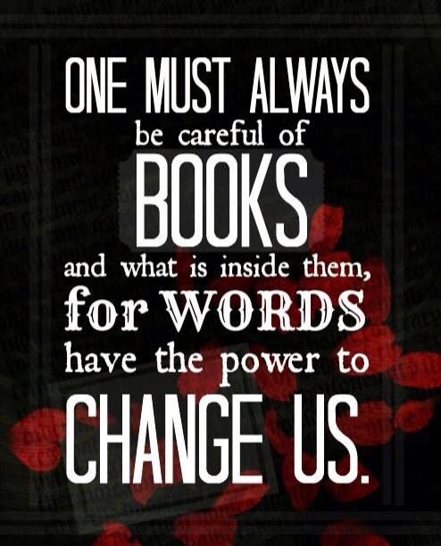 Always be careful of books....