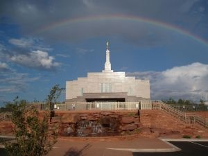 Snowflake Arizona LDS Temple