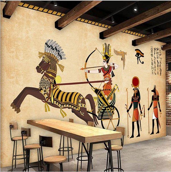 25 best ideas about egyptian symbols on pinterest for Egyptian mural wallpaper