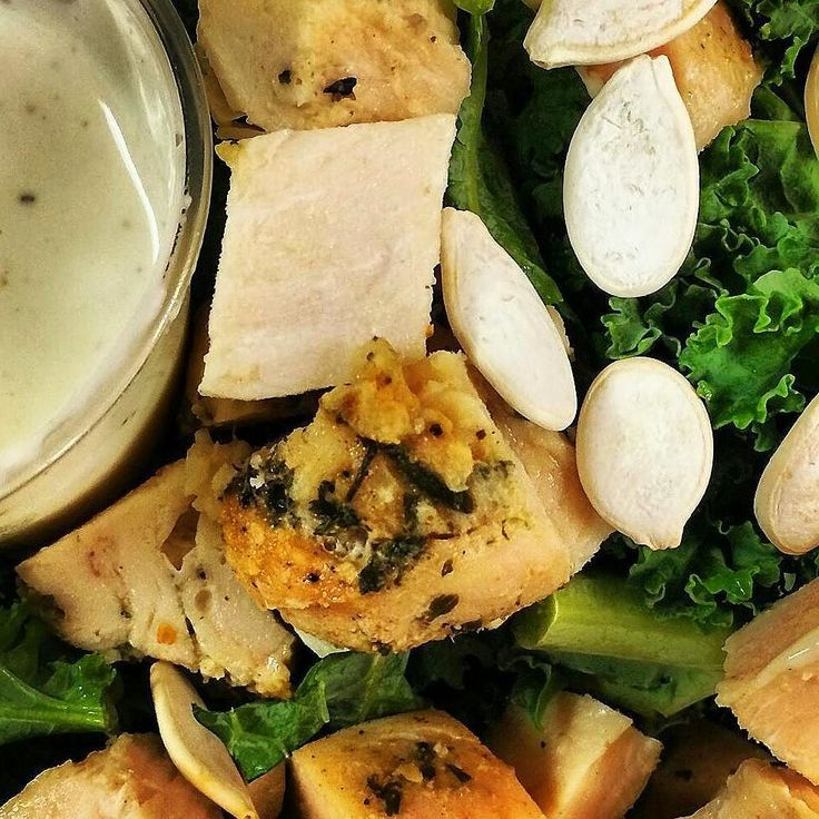 Kale Chicken Caesar Salad with Pumpkin Seeds Dairy Free Dressing.  To order #primalorganic healthy meal delivery  1-305-771-5352 http://ift.tt/1he2FeX  #paleo #diet #delivery #glutenfree #miami #aventura #brickell #coconutgrove #coralgables #doral #wynwood #crossfit #miamifit #southflorida #kendall #keybiscayne #miamibeach  #pinecrest #miamitrainers #southbeach #sunnyIsles  #miamifitness #sobe #midtownmiami  #werunmiami #wzamiami #miamilife