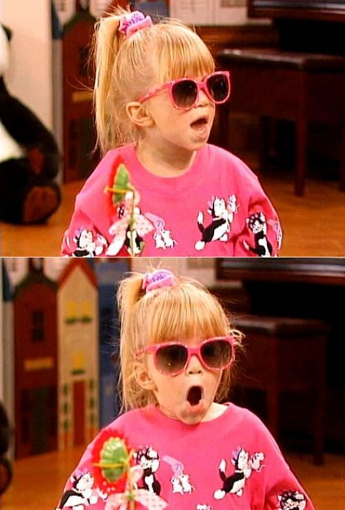 Michelle Tanner! Oh my goodness!