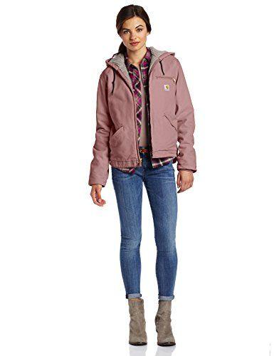 Carhartt Women's Sandstone Duck Sierra Jacket/Sherpa-Lined for only $89.99 You save: $20.01 (18%) #Carhartt