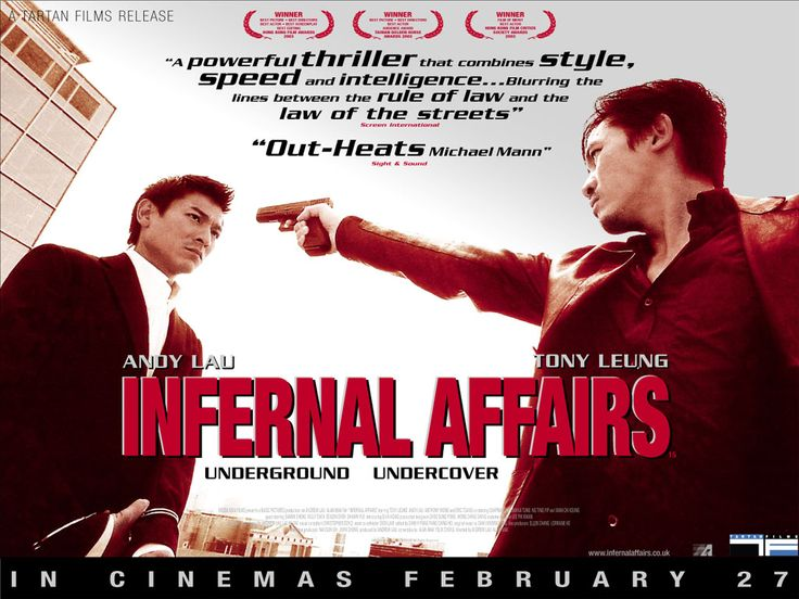 I still like the original more than The Departed. Infernal Affairs rules!