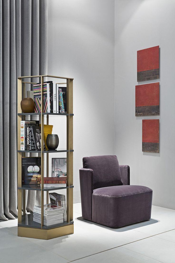 MERIDIANI I SEBASTIAN bookshelf - design and styling by ANDREA PARISIO