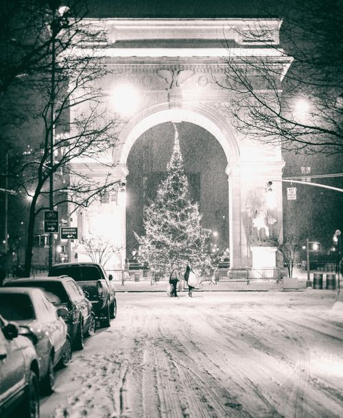 New York - Christmas in the City And the snow... | NY Through the Lens - New York City Photography