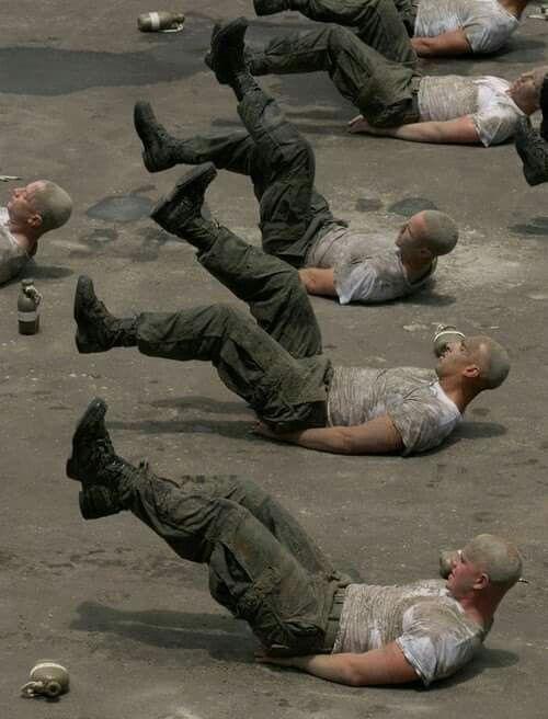 Dit is een onderdeel van de Navy Seal training die iedere rekruut moet…