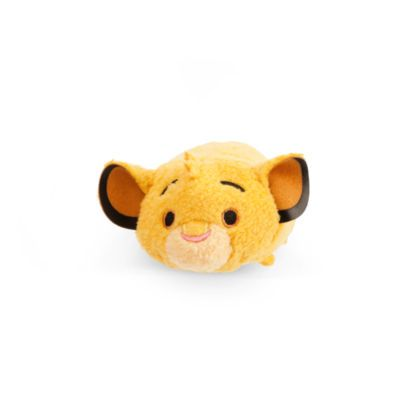 This Simba Tsum Tsum mini soft toy is colourful and stackable. This cute concept from Japan offers a quirky version of The Lion King star, with 3D details and a squeezy bean bag tummy.