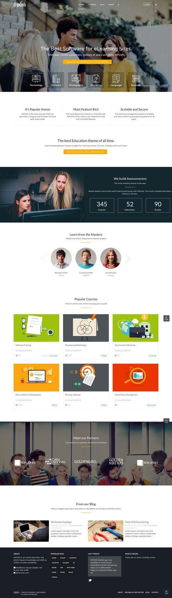 Mejores 28 imágenes de Nice looking websites en Pinterest | Cosas ...