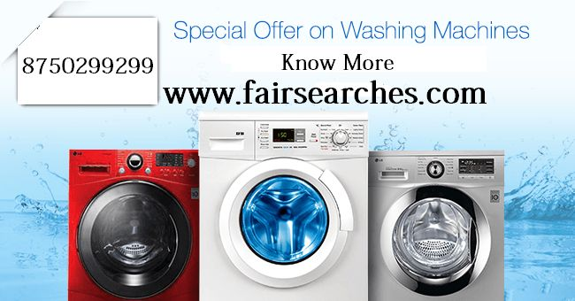 Washing Machine Repair Services in Noida you may get service by the fairsearches, this is the service provider portal, you may get here all services  if you have require, call here +91-8750299299,  here you get the best options for your  electric appliance repairs, you can call here or you may visit our portal online send your query of any category.