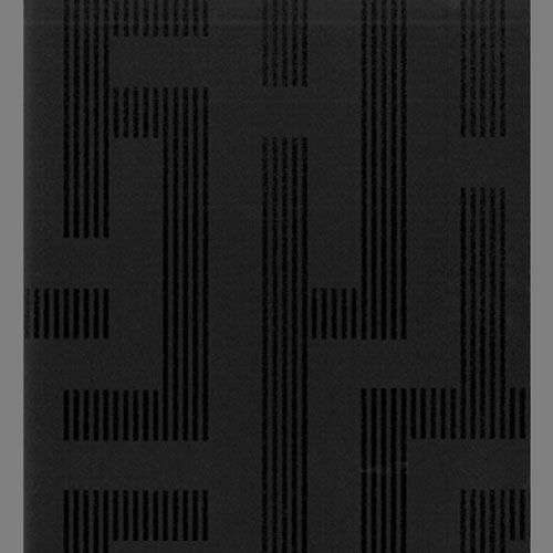 Illusion Black Striped Geometric Modern Wallpaper