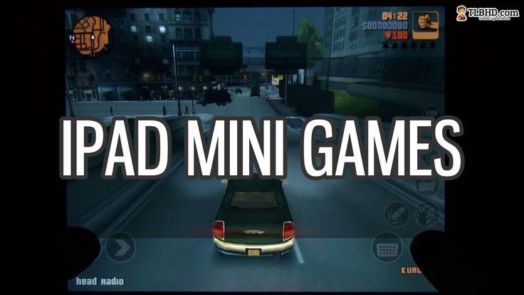 iPad Mini games: gaming on iPad Mini and gameplay performances (+playlist)