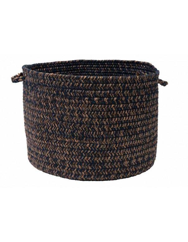 Navy Storage Basket (14in.x 14in.x 10in.) Hayward HY59 by Colonial Mills - $64.00