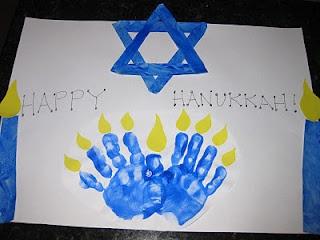 Love this Hanukkah craft!