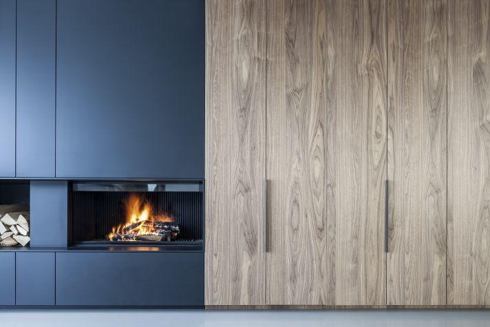 Haard met top materiaalcombo fire pinterest fire for Modern farmhouse fireplace