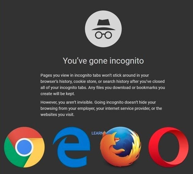 Privacy Mode Or Private Browsing Or Incognito Mode Is A Privacy Feature In Web Browsers To Disable Logging Of Browsing His Web Browser Browser Browsing History