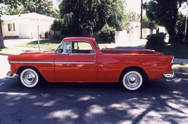 1955 Chevrolet Bel Air One Off Custom El Camino Side Profile