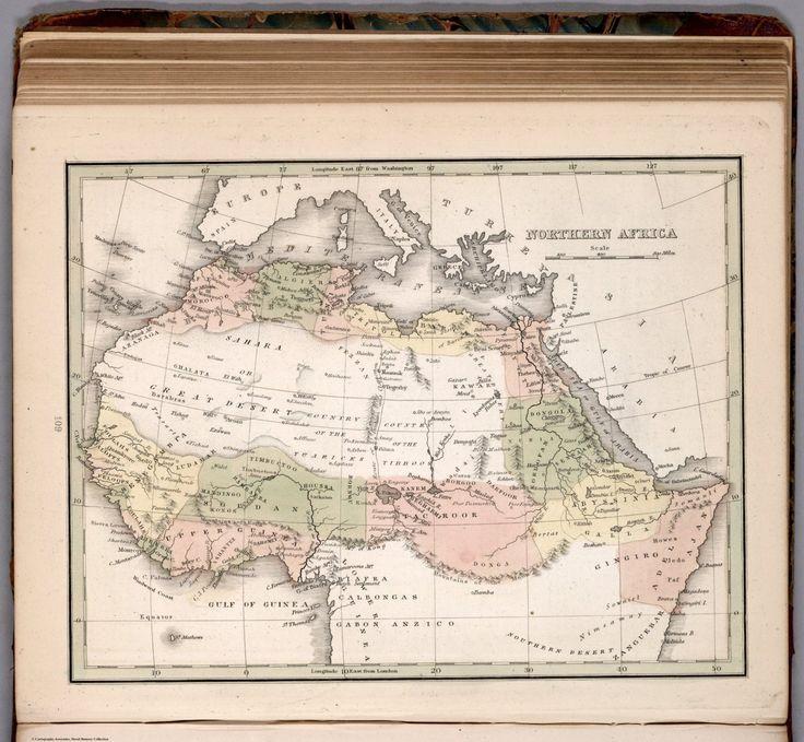 Mejores 258 imgenes de bantu maps en pinterest mapas africanos y hand color map shows countries regions cities and towns rivers etc gumiabroncs Images