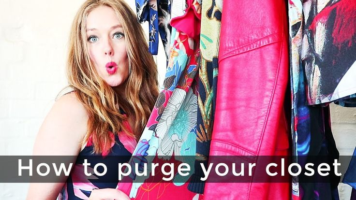 Over 40 style purge - How to purge your closet
