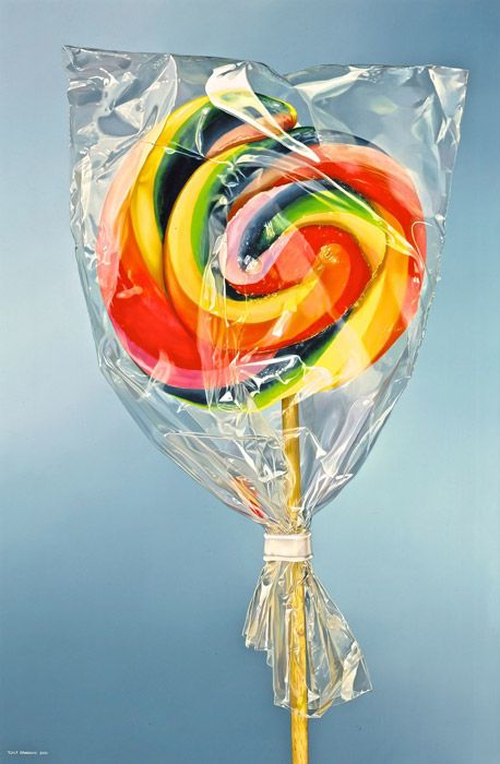 lolly - Tjalf Sparnaay yummy painting | Tasty, delicious, palatable!