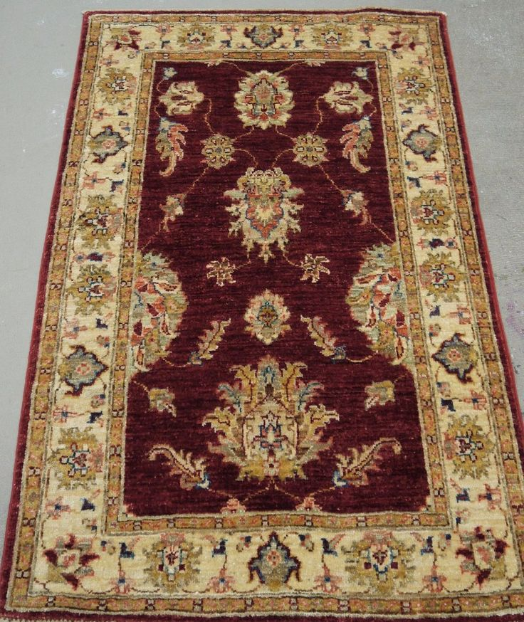 "NR: 19268 Location: Chobi Ziegler  Size: 4'1"" x 2'7"" Country: Afghanistan Pile: Wool Base: Cotton"