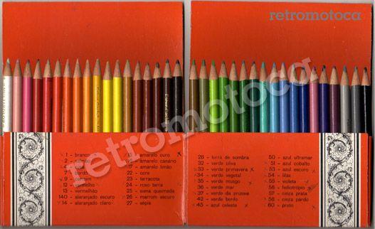 lápis multicolor 36 cores