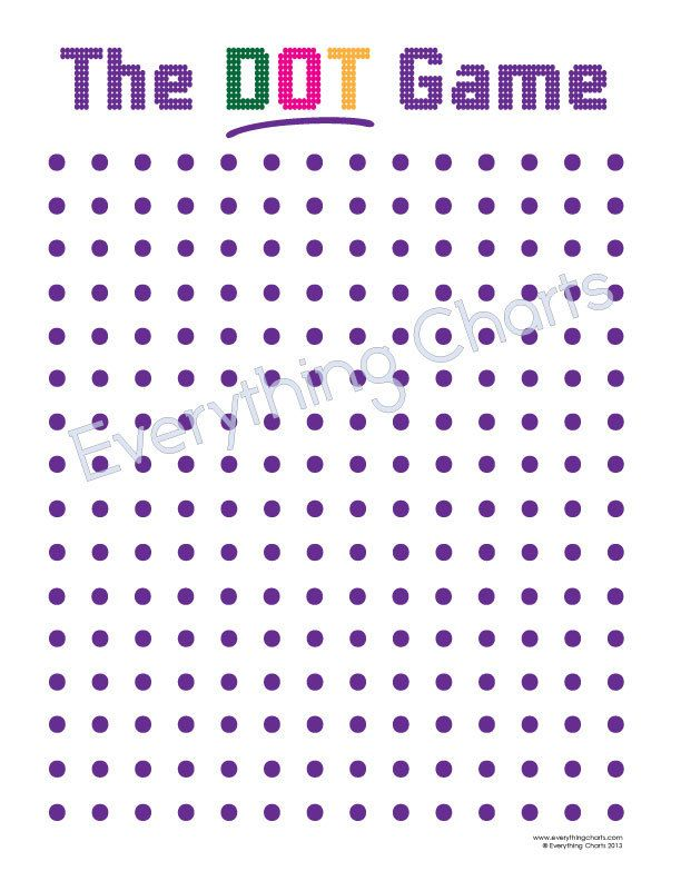 The Dot Game - PDF Files/Printables.