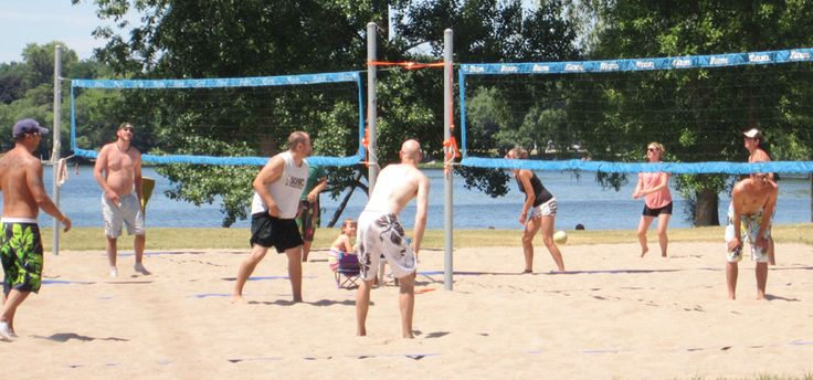 Our upcoming campaign starts with a beach volley tournament