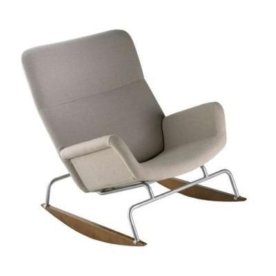 Yrjö Kukkapuro, Moderno rocking chair for Lepo, 1959.