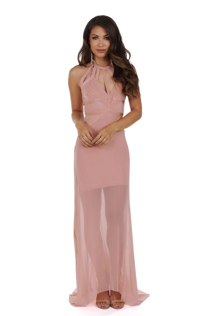 Jeanette Pink Bandage Dress | WindsorCloud