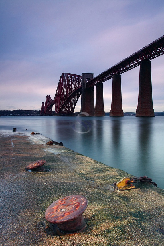 The Forth Railway Bridge taken by Keith Fergus.